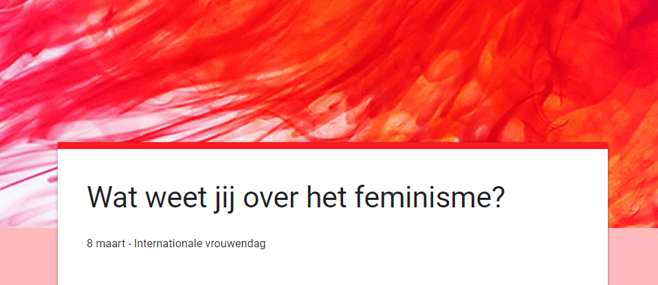 Wat weet jij over het feminisme?