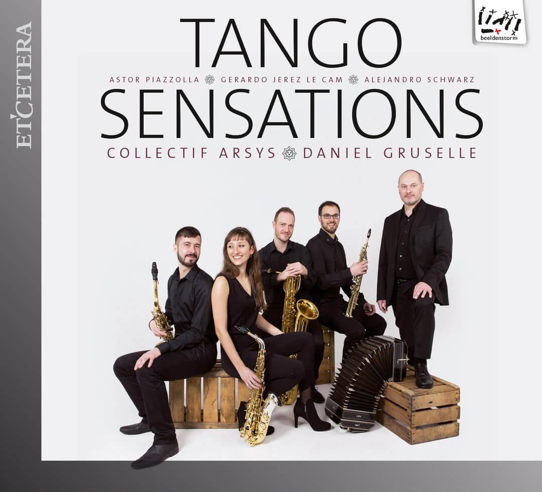 Beeldenstorm brengt cd uit: Tango Sensations
