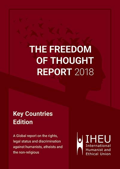 Lancering 7de jaarlijkse Freedom of Thought Report in Brussel