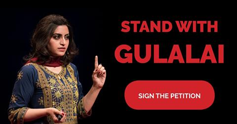 Teken de petitie voor Gulalai