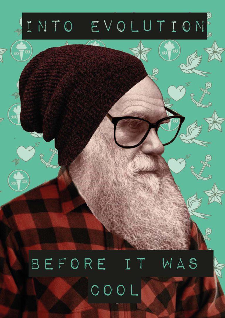 Hipster Darwin, bestel het nu
