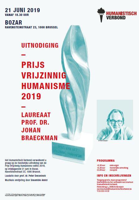 Prijs vrijzinnig humanisme 2019