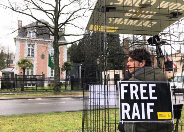 Teken de petitie voor de vrijlating van Raif Badawi