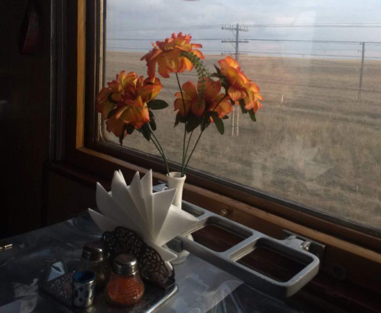 Met de trein naar Kazachstan