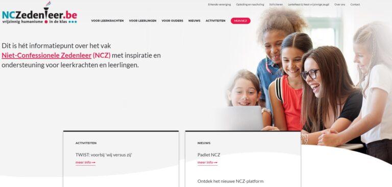 NCZedenleer.be: een splinternieuw platform voor leerkrachten NCZ