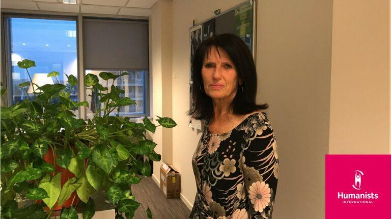 Anne-France Ketelaer opnieuw verkozen tot Vice-President van Humanists International