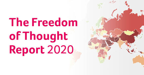 Persbericht: Lancering Freedom of Thought Report