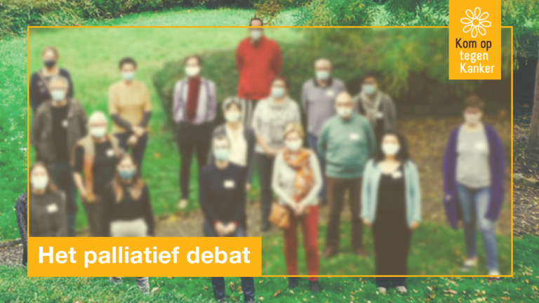 Burgers doen 47 aanbevelingen voor een betere palliatieve zorg
