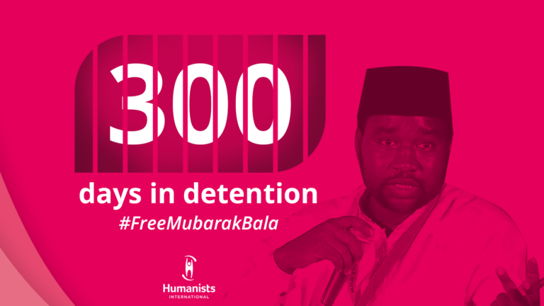 300 seconden stilte voor #300DaysWithoutMubarak