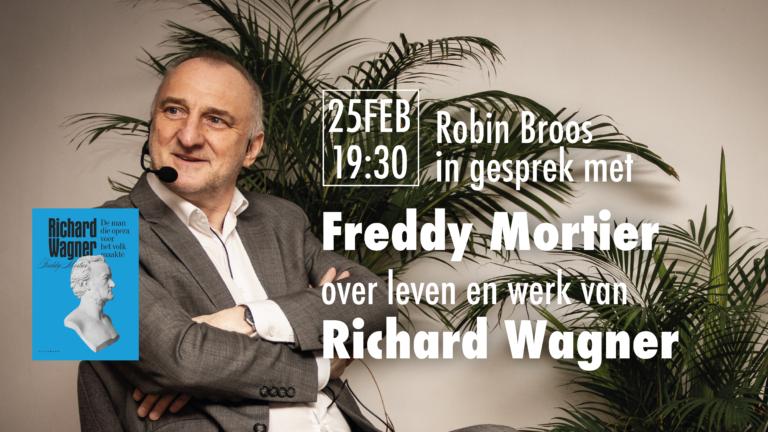 Boekvoorstelling Freddy Mortier – 'Richard Wagner. De man die opera voor het volk maakte'