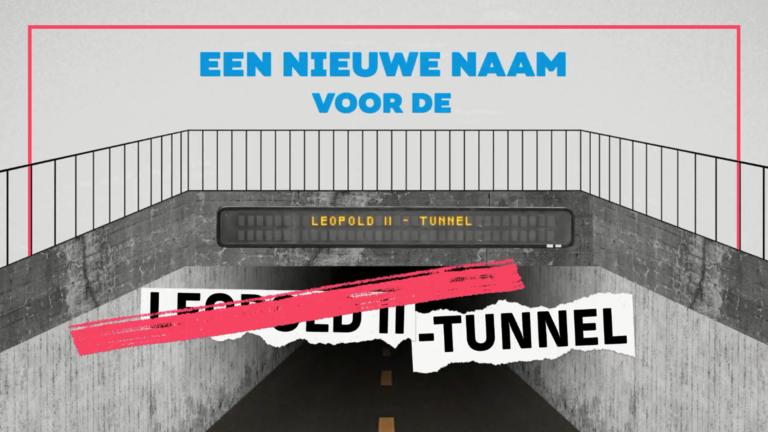 Kies een nieuwe naam voor de Leopold II-tunnel