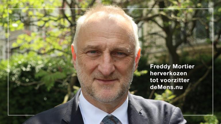 Freddy Mortier opnieuw verkozen tot voorzitter deMens.nu