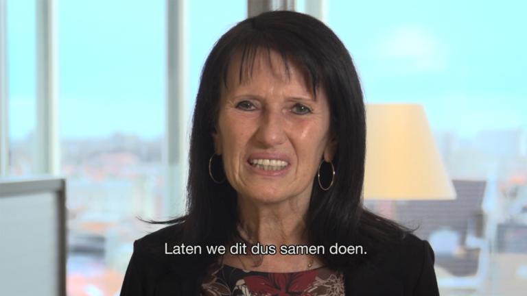 Video: ook wij laten ons vaccineren, want op ons komt het aan