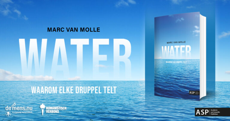 'Water, waarom elke druppel telt', een boek voor vandaag en de komende generaties