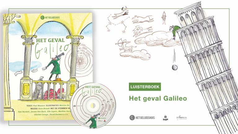 Het geval Galileo: een hilarisch hoorspel
