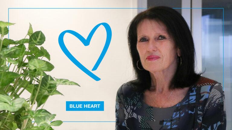 Werelddag tegen Mensenhandel: Blue Heart