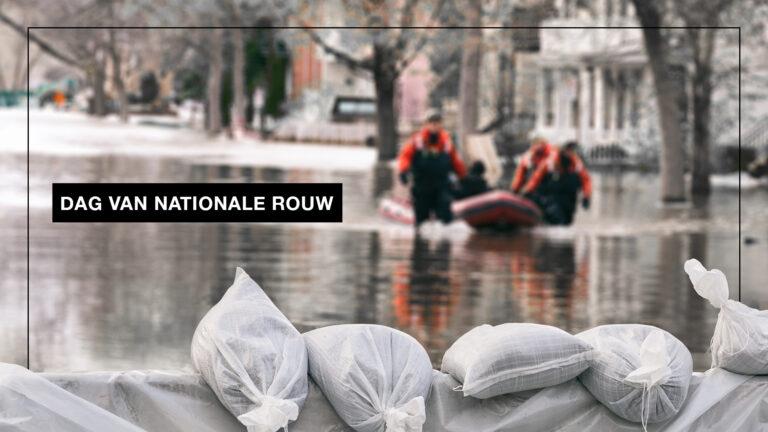Dag van nationale rouw voor de slachtoffers van de waterramp
