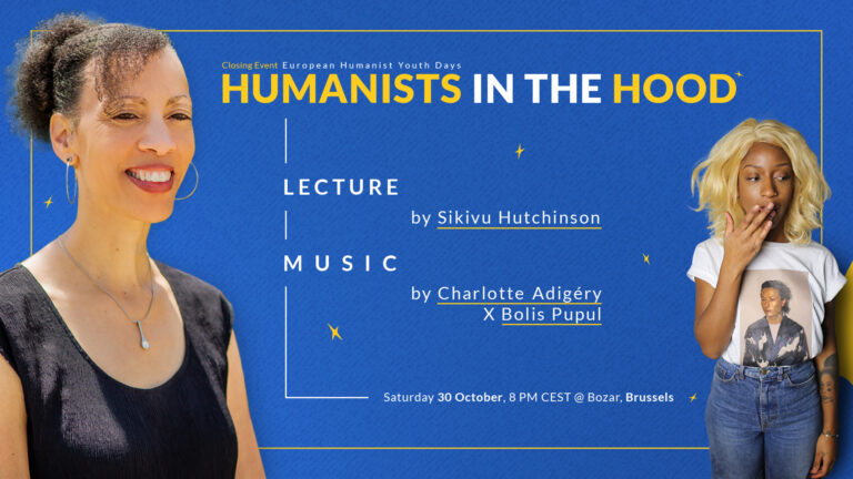 30/10: Humanists in the Hood – slotevent van de Europese Humanistische Jongerendagen