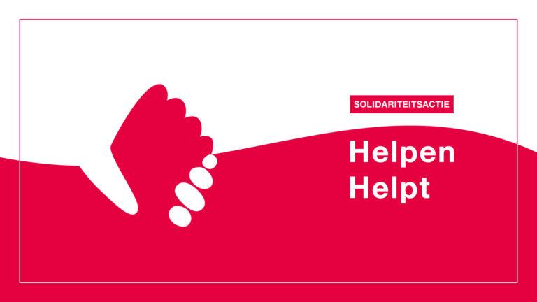 Solidariteitsactie #helpenhelpt