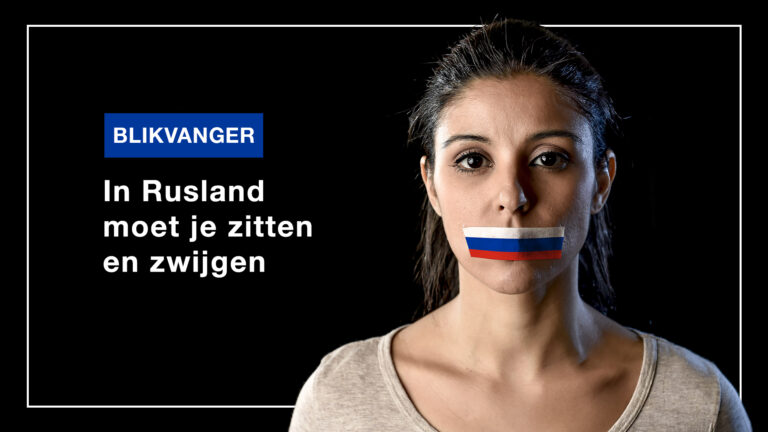 Blikvanger: In Rusland moet je zitten en zwijgen
