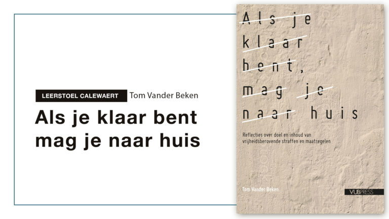 Leerstoel Calewaert: Tom Vander Beken