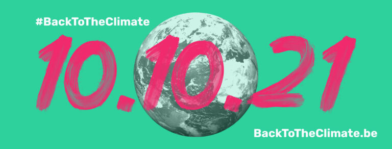 10 oktober Back to the Climate mars in Brussel